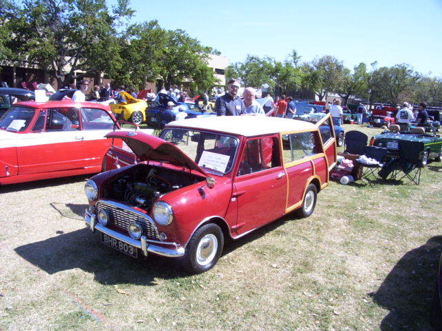 Austin Mini estate