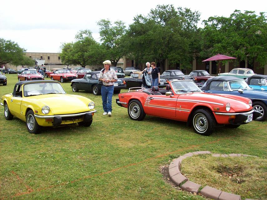 New Orleans Show Page Of The Panhandle British Car Association - New orleans car show